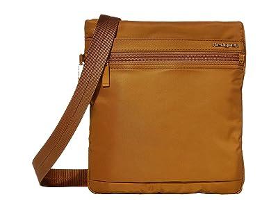Hedgren Leonce RFID Shoulder Bag (Bronze) Shoulder Handbags