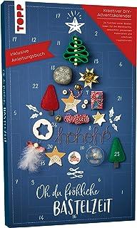 Adventskalender Oh du fröhliche Bastelzeit: 24 Türchen voller stylischer Bastelideen für die Weihnachtszeit und passendes ...