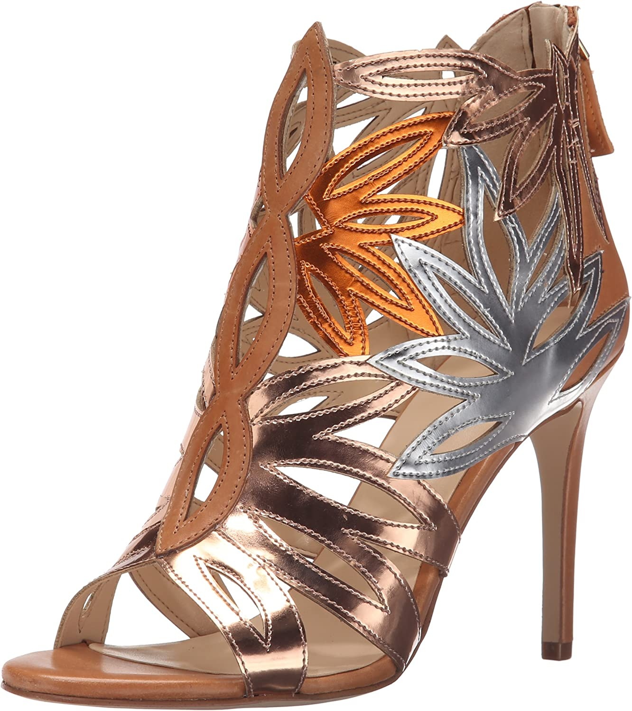 Nine West Womens Urgint Synthetic Gladiator Sandal