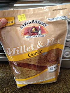 Sami's Millet and Flax Garlic Chips