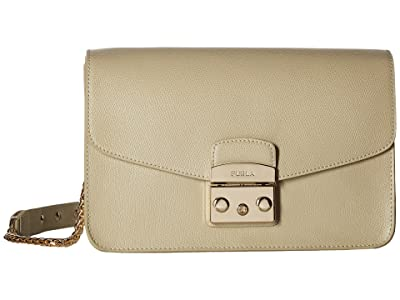 Furla Metropolis Small Shoulder Bag (Creta) Shoulder Handbags
