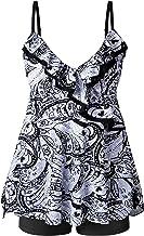 MOGGEI Plus Size Women Swimsuit for Tankini Swimwear Bathing Suit Swimwear Two Piece Design