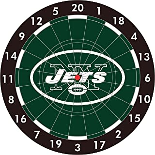 NFL New York Jets 12-Inch Paper Dart Board With Darts