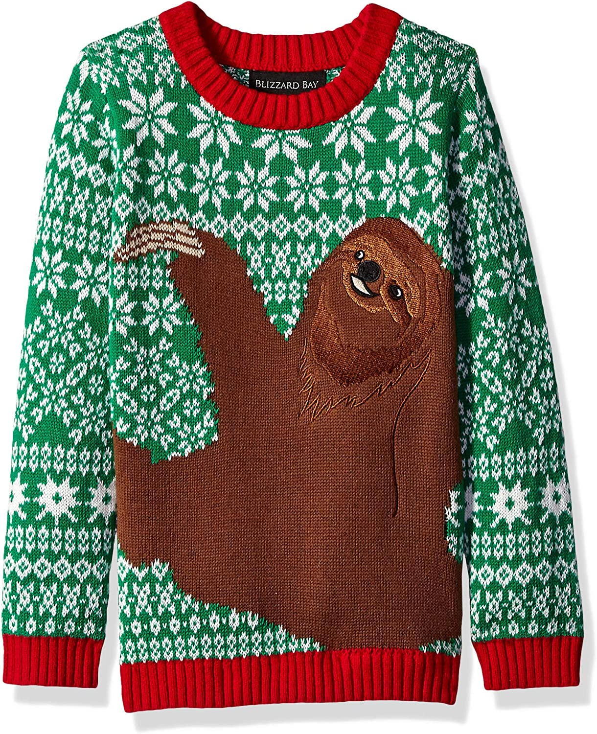 Blizzard Free shipping anywhere in the nation Bay Boys Ugly Chrismas Animals New item Sweater