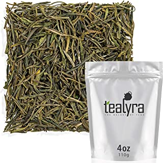 Tealyra - Yellow Tea - Jun Shan Yin Zhen - Best Chinese Yellow Loose Leaf Tea - Antioxidants Rich - Low Caffeine - 110g (4-ounce)
