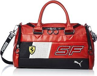 ea689bb132 Puma SF Fanwear SP-Cat Handbag Damen Handtasche Rosso Corsa