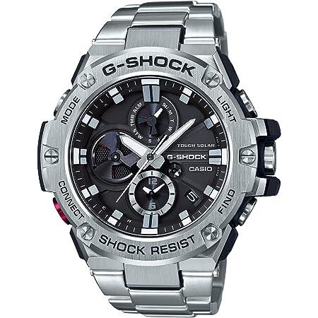 [カシオ] 腕時計 ジーショック G-STEEL スマートフォン リンク GST-B100D-1AJF メンズ シルバー