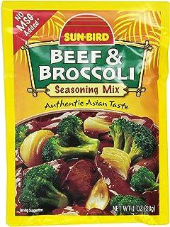 Sun-Bird BEEF & BROCCOLI Asian Seasoning Mix 1oz (10-pack)