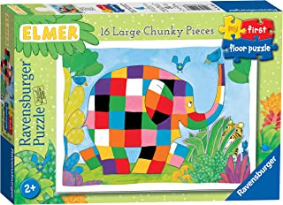 Ravensburger Elmer My First 16 Piece Jigsaw Puzzle for Toddlers and Kids 2 Years Up