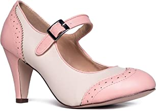 Best baby pink lace up heels Reviews