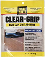 Seal Krete 40202 Clear Grip Non-Skid Grip Additive for Sealers, Paints & Epoxies