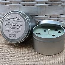 8 oz Juniper Breeze Soy Candle Tin (set of 2)