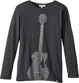 Appaman Kids - Extra Soft Rock N' Roll Long Sleeve Tee (Toddler/Little Kids/Big Kids)