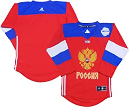 Outerstuff Russia World Cup of Hockey 2016 Red Replica Blank Youth Jersey
