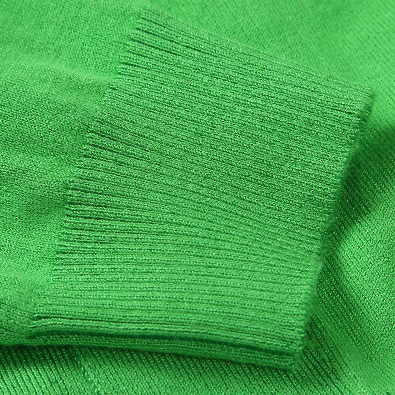 JOKHOO Women Classic 3/4 Sleeve Open Front Crop Cardigan