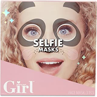 whos that girl selfie mask