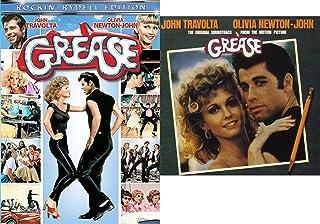 Movie & Music Bundle - Grease (Rockin' Rydell Edition) DVD & Grease Original Motion Picture Soundtrack DVD/CD Set