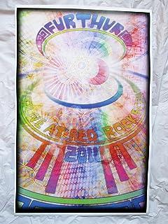 2011 Furthur Grateful Dead Live At Red Rocks Concert Poster