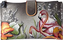 Anuschka Handbags - 1113 Large Smartphone Case & Wallet