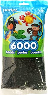 Best Perler Beads Fuse Beads for Crafts, 6000pcs, Black Review