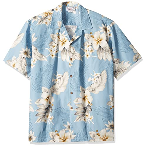 3e25f85b6d8 Pacific Legend Plumeria Hibiscus-Hawaiian Shirts