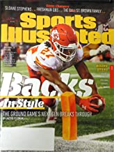 Sports Illustrated September 18 2017 Kareem Hunt cover. Kansas City Chiefs Rookie Sets Rushing Record