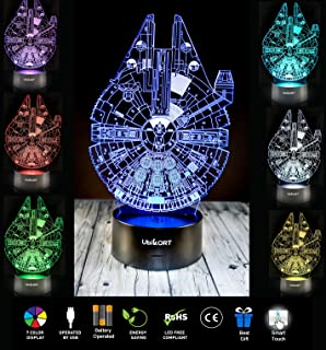 holinox star wars millennium falcon lamp