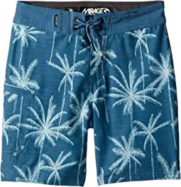 Rip Curl Kids - Mirage Palm Trip Boardshorts (Big Kids)