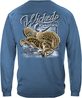 Fluke Fishing Long Sleeve T Shirt WF108LS