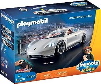 Playmobil Porsche Mission E with Rex Dasher