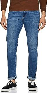 Wrangler Men's Skinny Fit Jeans (W38715W22SMU032033_Jsw-Indigo_32W x 33L)
