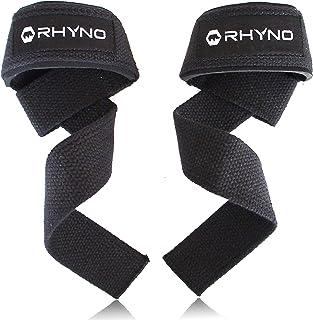 RHYNO(ライノ) リストストラップ リフティングストラップ/トレーニング 筋トレ サポーター/選べる色
