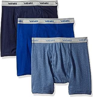 Men's 3 Pack Underwear Boxer Briefs Cotton Breathable Comfortable