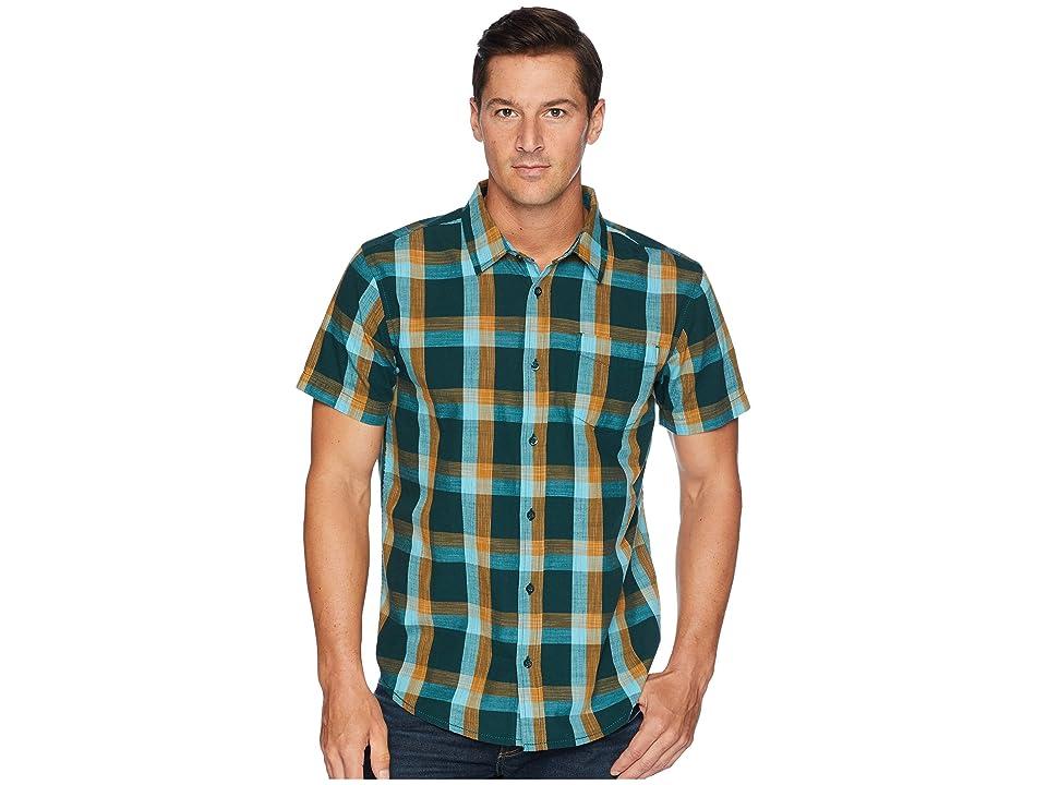 Prana Ecto Short Sleeve Shirt (Highland Green) Men