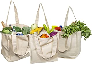 extra large canvas shopping bags