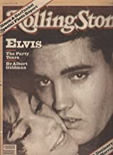 Rolling Stone Magazine Oct 29, 1981 Issue 355 Elvis Presley Cover