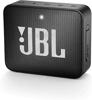 JBL GO 2 Portable Bluetooth Speaker, Black - JBLGO2BLK