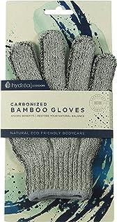 Hydrea London - Guantes exfoliantes de bambú carbonizado BCEG1