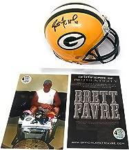 brett favre signed mini helmet