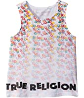True Religion Kids - Sponge Flower Tank Top (Toddler/Little Kids)