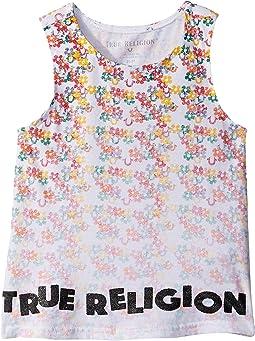 Sponge Flower Tank Top (Toddler/Little Kids)
