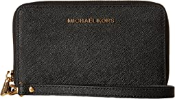 5d7f99301727 Black. 130. MICHAEL Michael Kors. Jet Set Travel Large Flat Multifunction  Phone Case