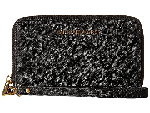f5cca2fc46b8 MICHAEL Michael Kors Jet Set Travel Large Flat Multifunction Phone Case