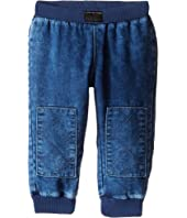 Little Marc Jacobs Denim Effect Trousers with Knees Patches (Infant)