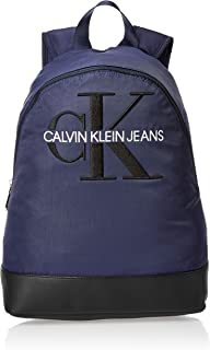 Calvin Klein Monogram Nylon CP Backpack Bag, 40 cm, K50K505249
