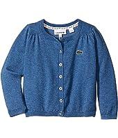Lacoste Kids - Cotton Wool Cardigan (Infant/Toddler/Little Kids/Big Kids)