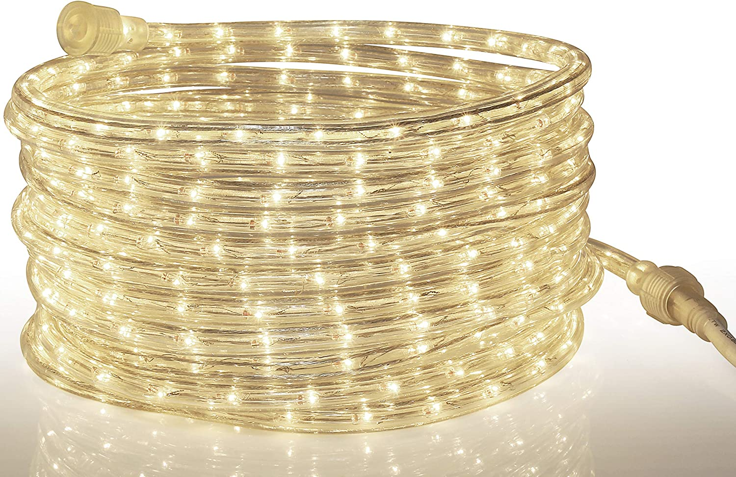 Tupkee LED Rope Light Warm-White - 24 7.3 Feet a Finally popular brand for m Quality inspection Indoor