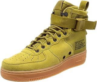 Men's SF AF1 Mid Basketball Shoe 8 Green