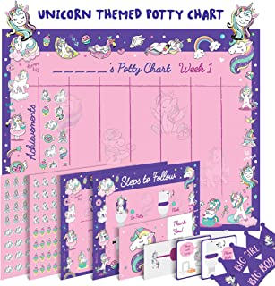 potty sticker chart girl