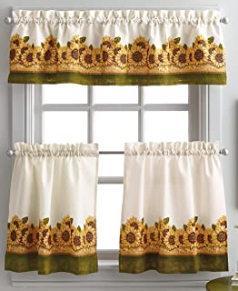 Amazon Com Kitchen Curtains Set